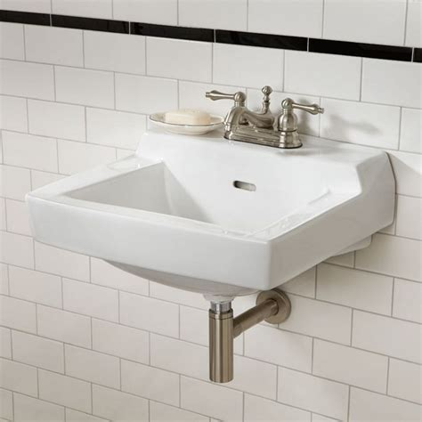 Nice Small Wall Mount Sink Bathroom — The Homy Design