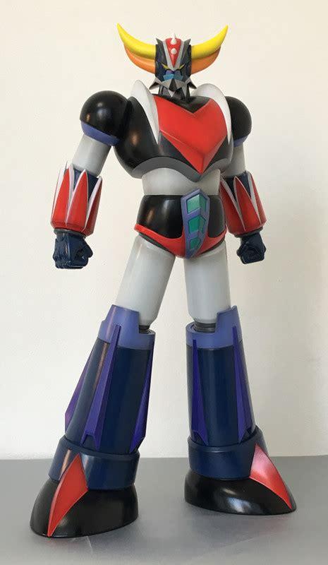 mazinger devilman grendizer human sized statues decorate interest anime