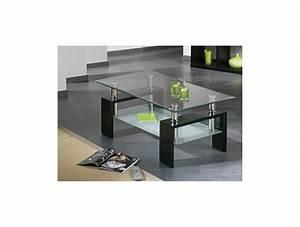 Dessus De Table En Verre : table basse dessus verre niagara tidy home ~ Teatrodelosmanantiales.com Idées de Décoration