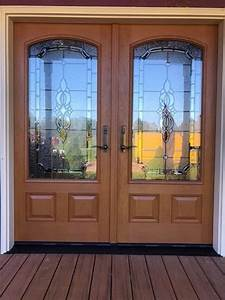 Fiberglass Entry Door Project For Victorian Homes