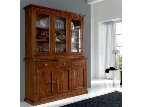 credenza antica prezzo credenza con vetrinetta alzata artigianale in legno