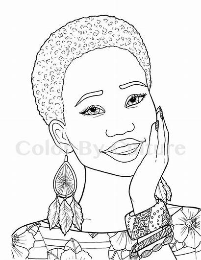 Coloring Pages African Printable Colorir Para Afro