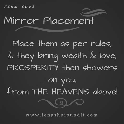 Feng Shui Bathroom Mirror Placement by Mirrors And Feng Shui