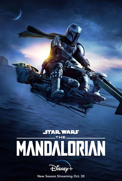 Disney+ Drops a New Poster For The Mandalorian Season 2