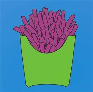 Untitled chips blue by Michael Craig-Martin on artnet