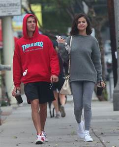 SELENA GOMEZ and Justin Bieber Out in Los Angeles 11/01 ...
