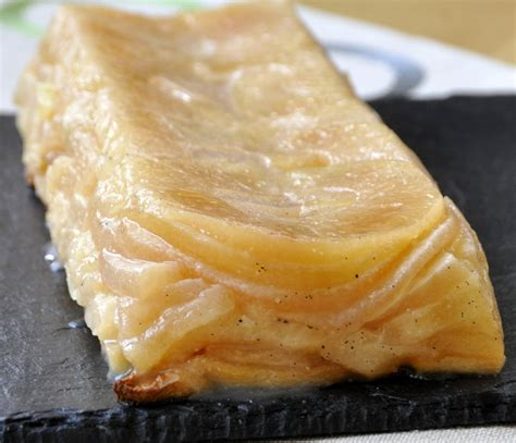 tarte aux pommes sans pate et doree a la noix de coco