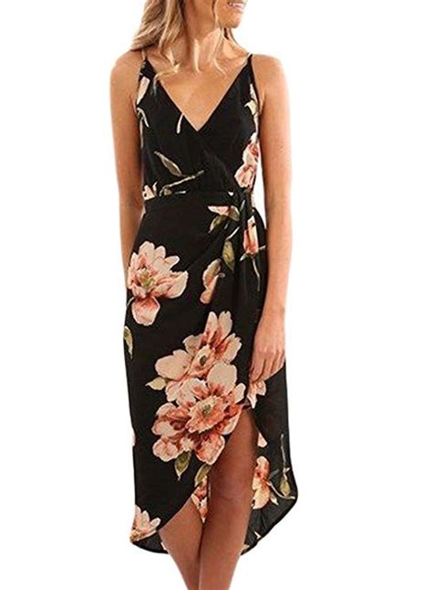 Dearlovers Women V-Neck Floral Print Halter Sleeveless ...