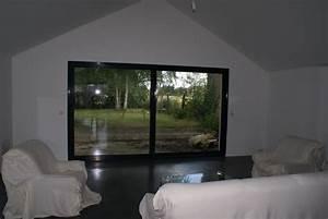 baie vitree alu 4 metres dthomas With modele de maison en u 11 baie vitree alu baie coulissante alu devis en ligne prix