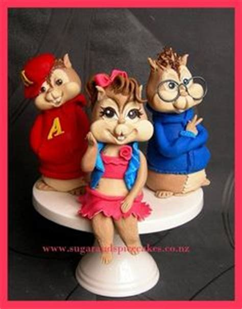 Alvin And The Chipmunks Cake Toppers by 1000 Images About Alvin The Chipmunks Cakes On