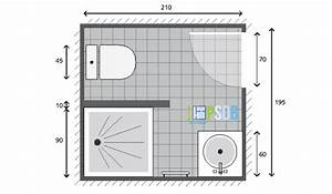 Plan Salle De Bain 7m2 : petite salle de bain ~ Dode.kayakingforconservation.com Idées de Décoration