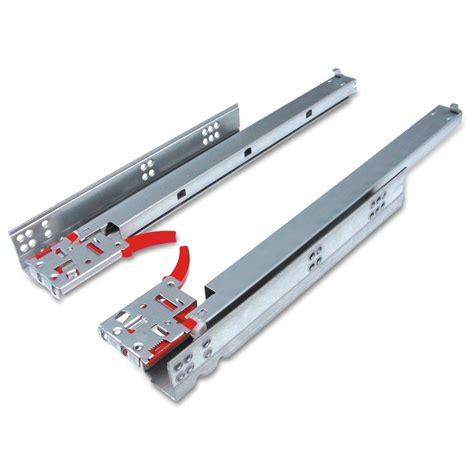 extension drawer slides gliderite platinum 18 quot undermount 100 lb extension
