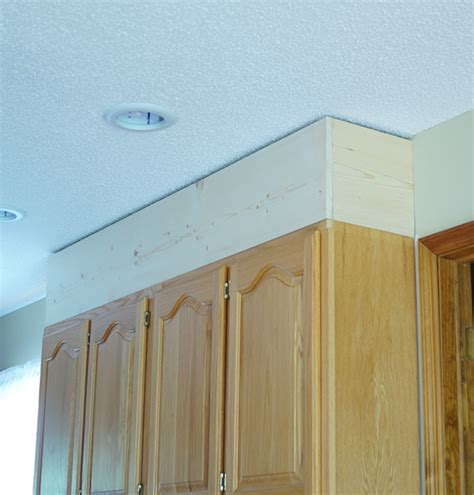 kitchen cabinet crown molding diy kitchen cabinet upgrade with paint and crown molding