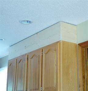 diy kitchen cabinet upgrade with paint and crown moulding 2081
