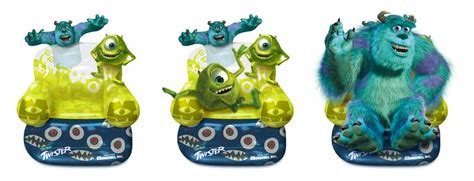 kickaboo digital portfolio monsters inc page
