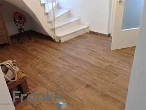 Treppen Fliesen Holzoptik : holzoptik mit der fliese xl style riva wood verlegung imit zwei verschiedenen formaten http ~ Markanthonyermac.com Haus und Dekorationen