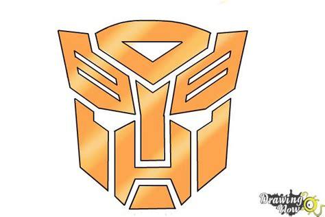 draw autobot logo  transformers drawingnow