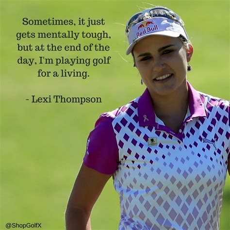 Lexi Thompson Golf Swing