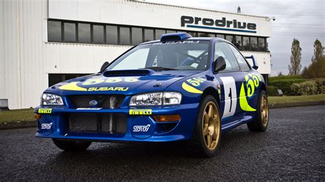 subaru wrc colin mcrae s iconic wrc subaru for sale motoring research