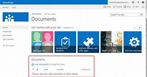 Sharepoint 2013   T U00e9l U00e9charger Des Documents Dans Une Biblioth U00e8que