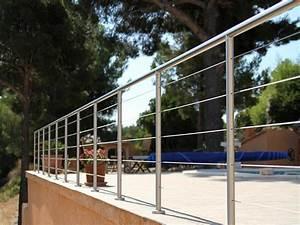 Garde Corps Terrasse Inox : garde corps terrasse ~ Melissatoandfro.com Idées de Décoration