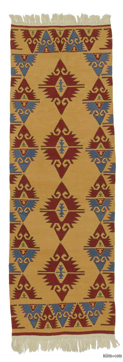 turkish kilim rugs k0021053 yellow new turkish kilim rug