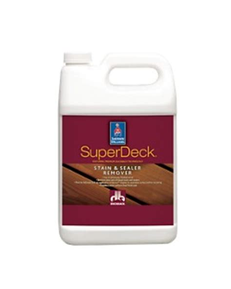superdeck deck care system sherwin williams