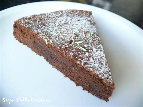 gateau au chocolat avec poudre de cacao