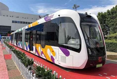 Light Rail by Why Trackless Trams Are Ready To Replace Light Rail