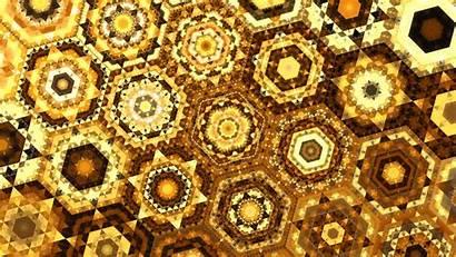 Geometric Patterns Abstraction Brown 4k Abstraktion Braun
