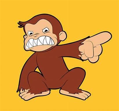 George Curious Furious Evil Monkey Olechka Shabe
