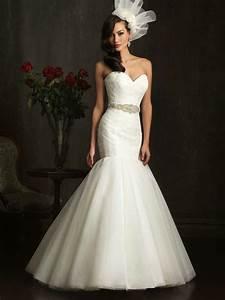 white mermaid wedding dress with diamondsWedWebTalks ...