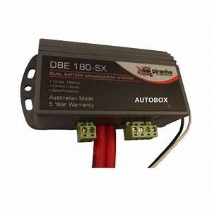 Piranha Dual Battery 180amp Isolator Management System