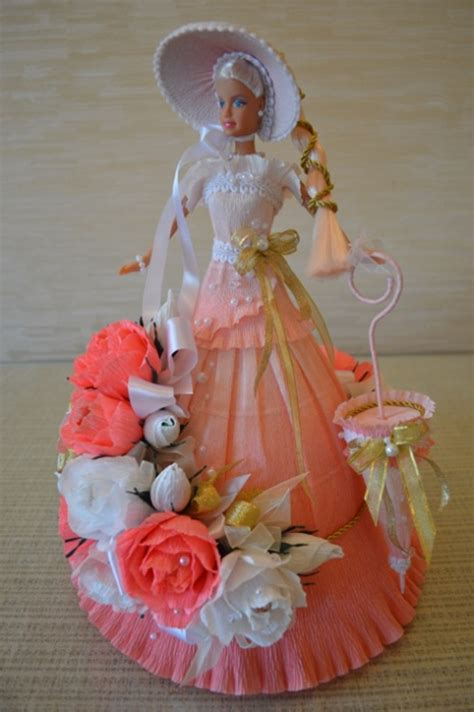 barbie chocolate bouquet      birthday party