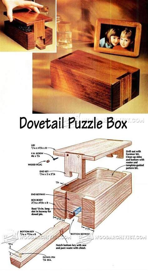 puzzle box ideas  pinterest box puzzle game