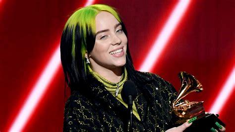 billie eilish  history  youngest artist  win top