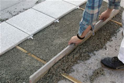 Granitplatten In Mortel Verlegen Terrassenplatten Sicher Auf Beton