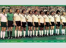 1974 West Germany – Yugoslavia 20 10 Germany's