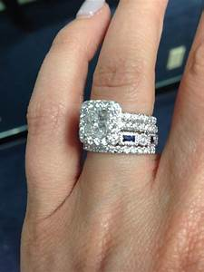 Trendy Wedding Rings In 2016 Combined Wedding And