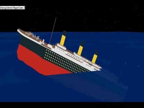 Roblox Sinking Ship Simulator Titanic by Roblox Titanic Sinking Real Time Gameonlineflash
