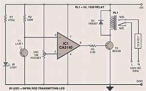 Wireless Light Switch Circuit