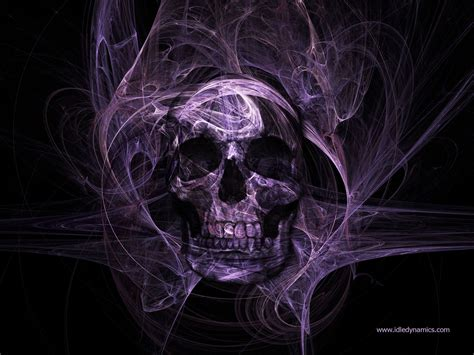 Anime Skull Wallpaper - cool skull skull purple skull colour