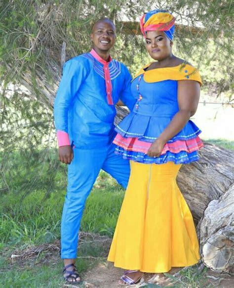 couple  sepedi traditional wedding attire clipkulture