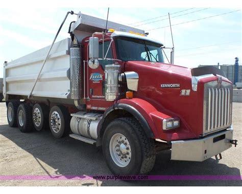 2007 kenworth trucks for sale 2007 2007 kenworth t800 dump truck for sale manhattan