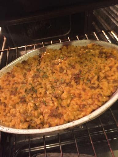 gratin pates et viande hachee gratin de p 226 tes 224 la viande hach 233 e et aux oeufs recette de gratin de p 226 tes 224 la viande hach 233 e