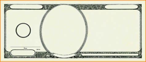 Money Template Blank Money Template Www Pixshark Images Galleries