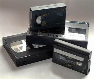VHS, Betamax, VHS-C and Video-8 Video Cassettes | SimplyDV ...