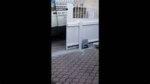 Portail Coulissant En Pente : portail coulissant motoris avec pente mov youtube ~ Premium-room.com Idées de Décoration