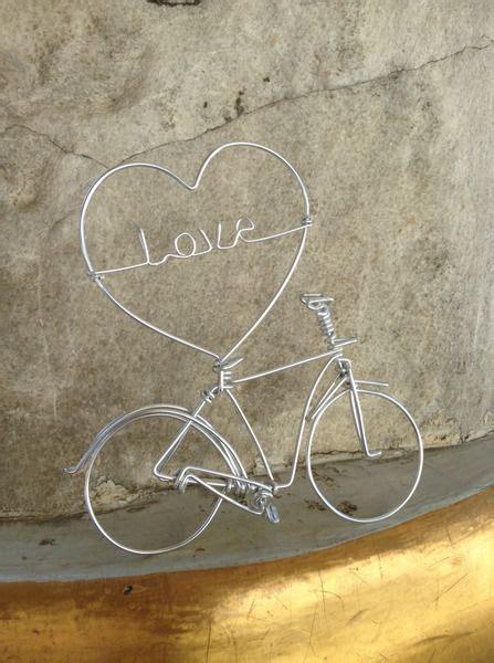 buchstaben aus draht biegen geldgeschenk vintage fahrrad biscuit boutique auf dawanda geschenke bicycle