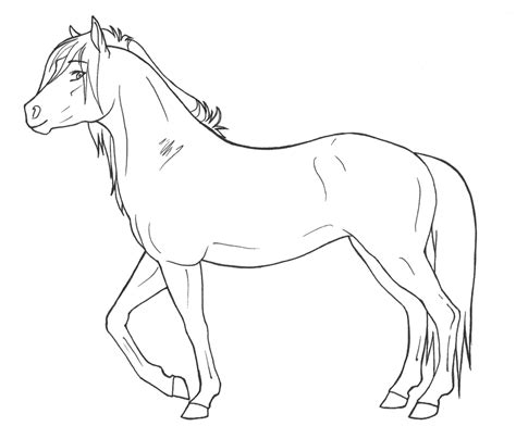 Dieren Kleurplaten Paarden by Paarden Kleurplaten 187 Animaatjes Nl
